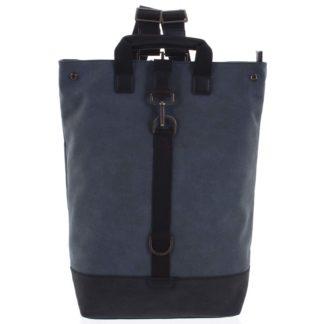 Pánský velký batoh modrý - Hexagona Adrien modrá