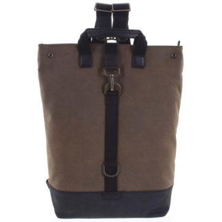 Pánský velký batoh hnědý - Hexagona Adrien hnědá