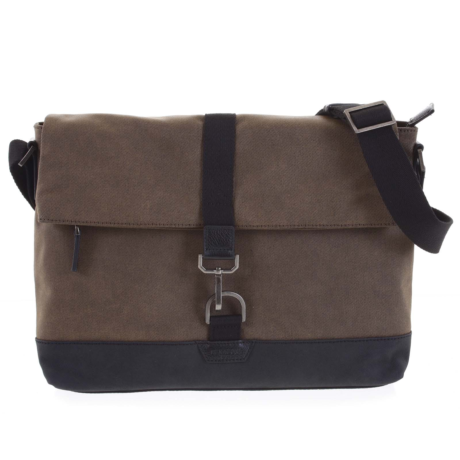 Pánská taška na notebook hnědá - Hexagona Cladrien hnědá