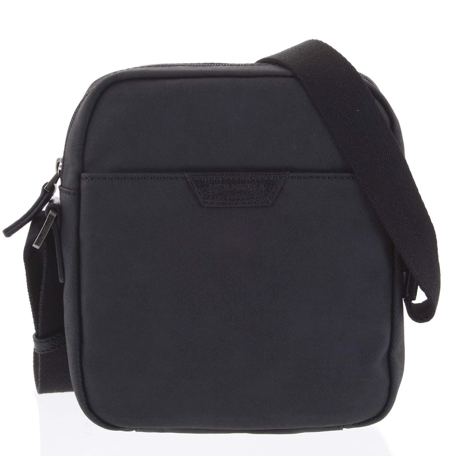 Pánská taška přes rameno černá - Hexagona Clark černá