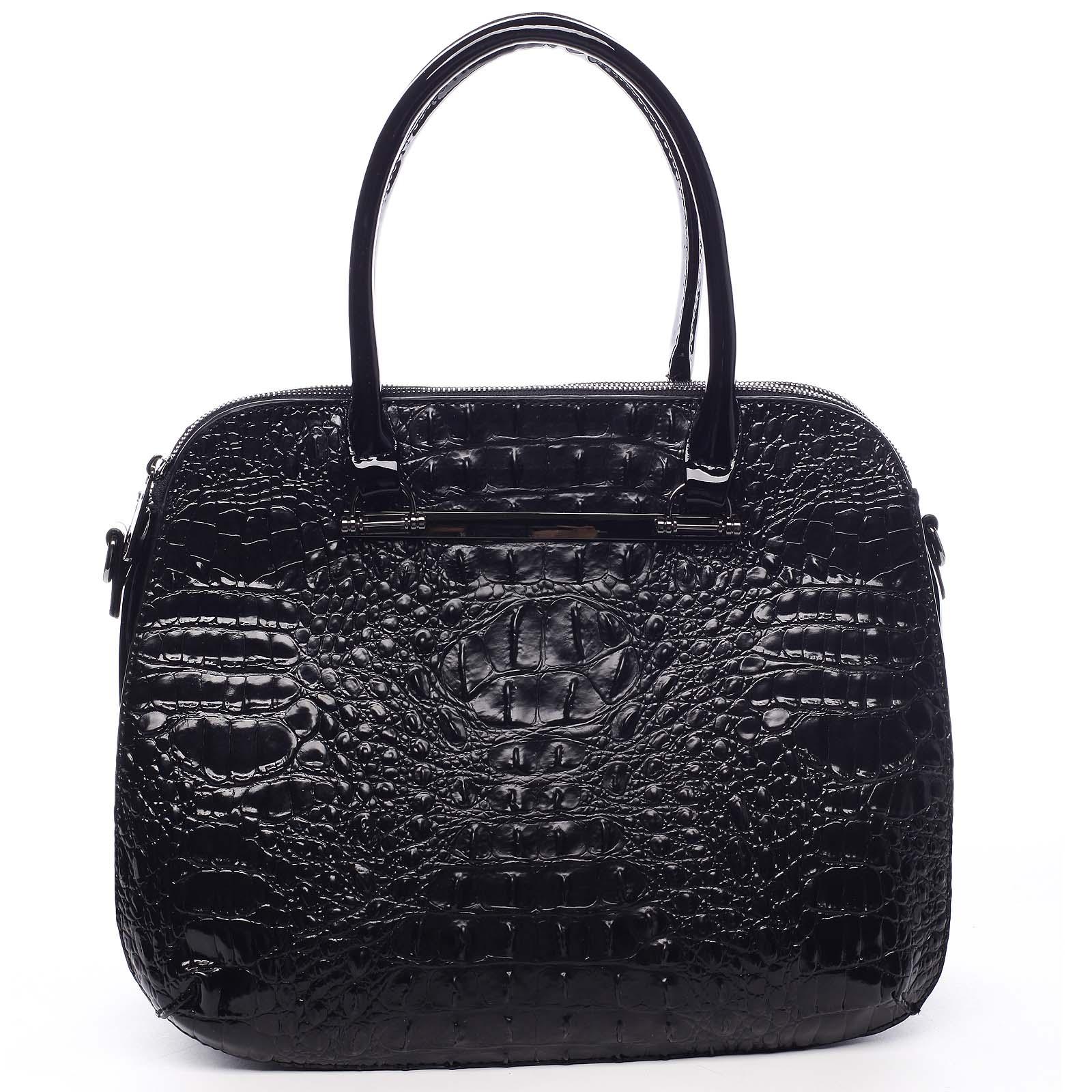Dámská kabelka do ruky černá - Dudlin Lexi černá