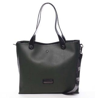 Dámská kabelka přes rameno zelená - Pierre Cardin Ellie zelená
