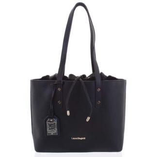Dámská kabelka přes rameno černá - Laura Biagiotti Violet černá