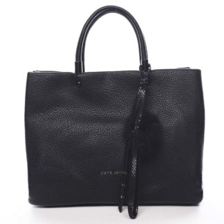 Dámská kabelka do ruky černá - Pierre Cardin Krimea černá