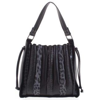Dámská kabelka přes rameno černá - Dudlin Pruet černá