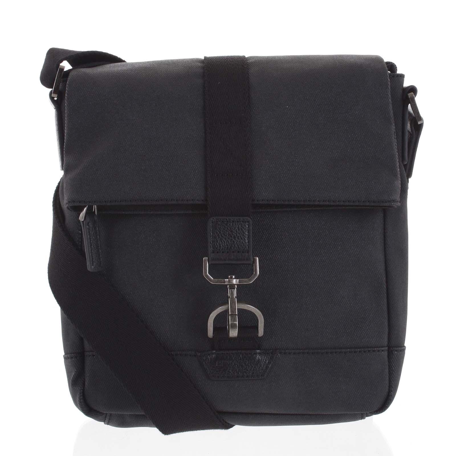 Pánská taška přes rameno černá - Hexagona Bennio černá