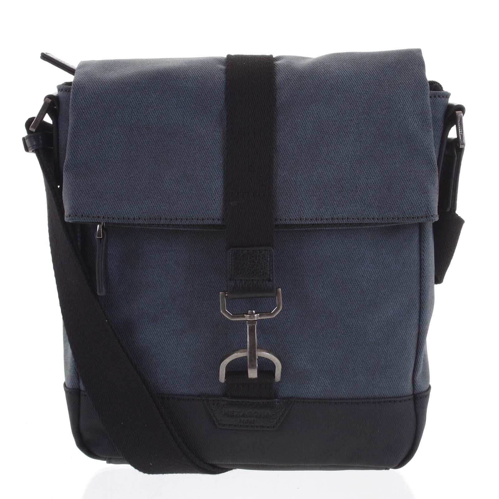 Pánská taška přes rameno modrá - Hexagona Bennio modrá
