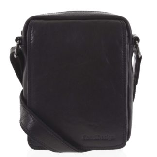 Pánská kožená taška černá - SendiDesign Merlim černá