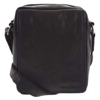 Pánská kožená taška černá - SendiDesign Lorem černá