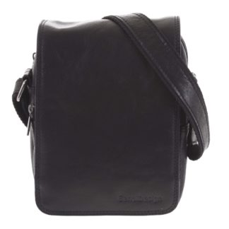 Pánská kožená taška přes rameno černá - SendiDesign Muxos černá