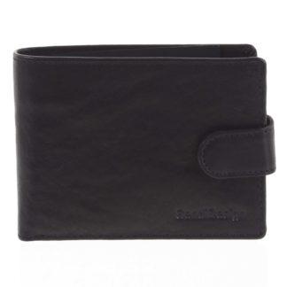 Pánská kožená peněženka černá - SendiDesign Mheo černá