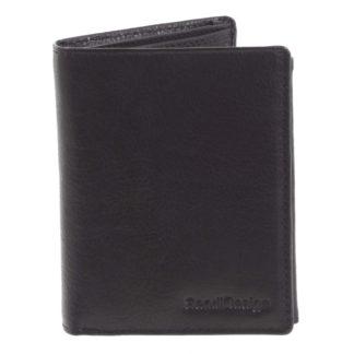 Pánská kožená peněženka černá - SendiDesign Benny černá