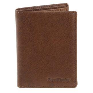 Pánská kožená peněženka světle hnědá - SendiDesign Benny hnědá
