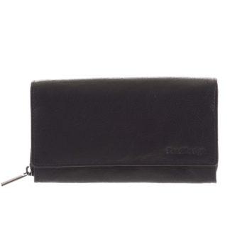Dámská kožená  peněženka černá - SendiDesign Zimbie černá