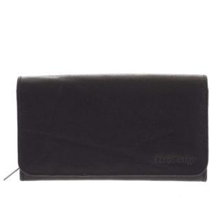 Dámská kožená peněženka černá - SendiDesign Really černá