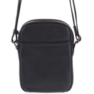 Pánská kožená taška na doklady černá - Hexagona Yesterday černá