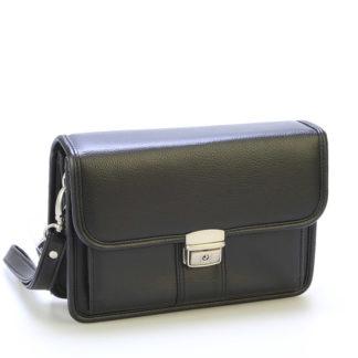 Prostorné pánské černé etue - Sendi Design 2802 černá