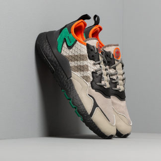 adidas Nite Jogger Sesame/ Core Black/ Bright Green