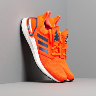 adidas UltraBOOST 20 Solid Red/ Blue Vime/ Ftw White