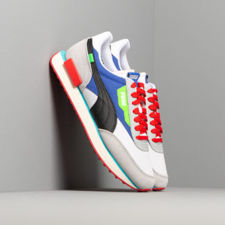 Puma Future Rider Ride On Puma White/ High Rise/ Dazz Blue