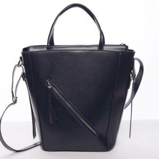 Moderní dámská kabelka do ruky tmavě modrá - Delami Maryam modrá