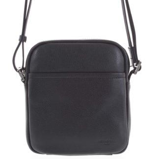 Pánská kožená taška na doklady černá - Hexagona Thursday černá