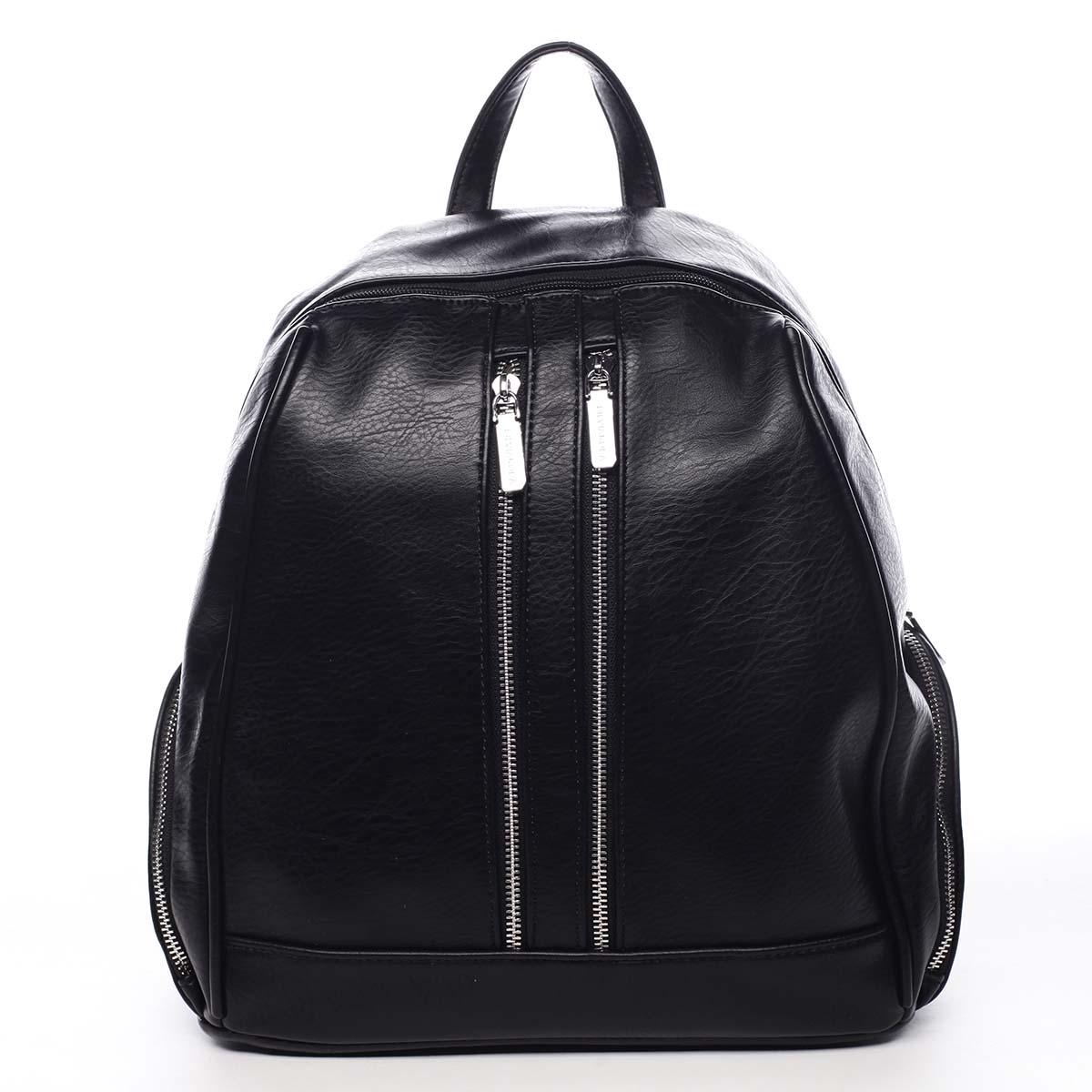 Dámský batoh černý - Silvia Rosa William černá