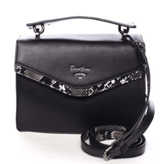 Dámská kabelka do ruky černá - David Jones Scarlett černá
