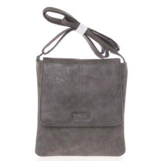 Dámská elegantní crossbody kabelka šedá - Piace Molto Narcissa šedá