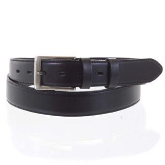 Pánský kožený opasek černý - PB Terah 115 černá