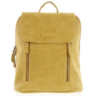 Dámský střední batoh žlutý - Enrico Benetti Aviana žlutá
