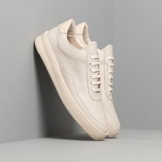 Filling Pieces Low Mondo Ripple Nardo Nappa All White
