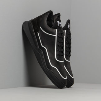 Filling Pieces Low Top Ghost Silk Black/ White
