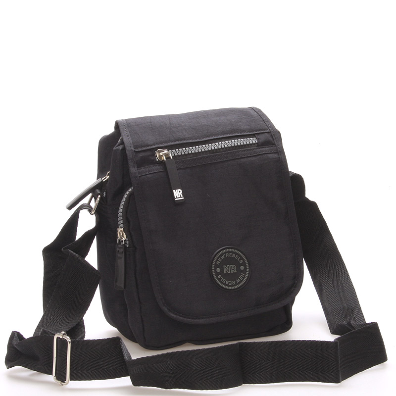 Malá sportovní taška na doklady černá - New Rebels Jacob černá