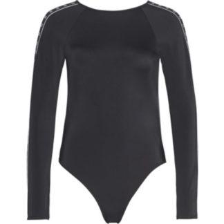 Calvin Klein černé jednodílné plavky Long Sleeve One Piece