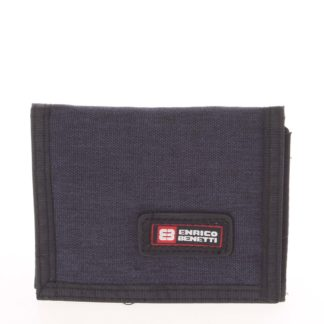 Peněženka látková tmavě modrá - Enrico Benetti 4500 modrá