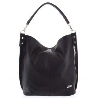 Elegantní dámská kabelka přes rameno černá - Ellis Negina černá