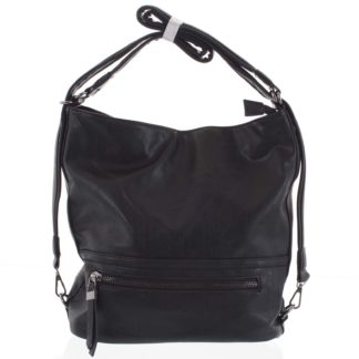 Dámská kabelka batoh černá - Romina Nikka černá