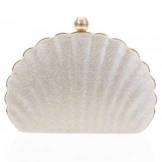 Dámské psaníčko zlaté - Michelle Moon Seashell zlatá
