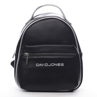 Dámský městský batoh černý - David Jones Sennyel černá
