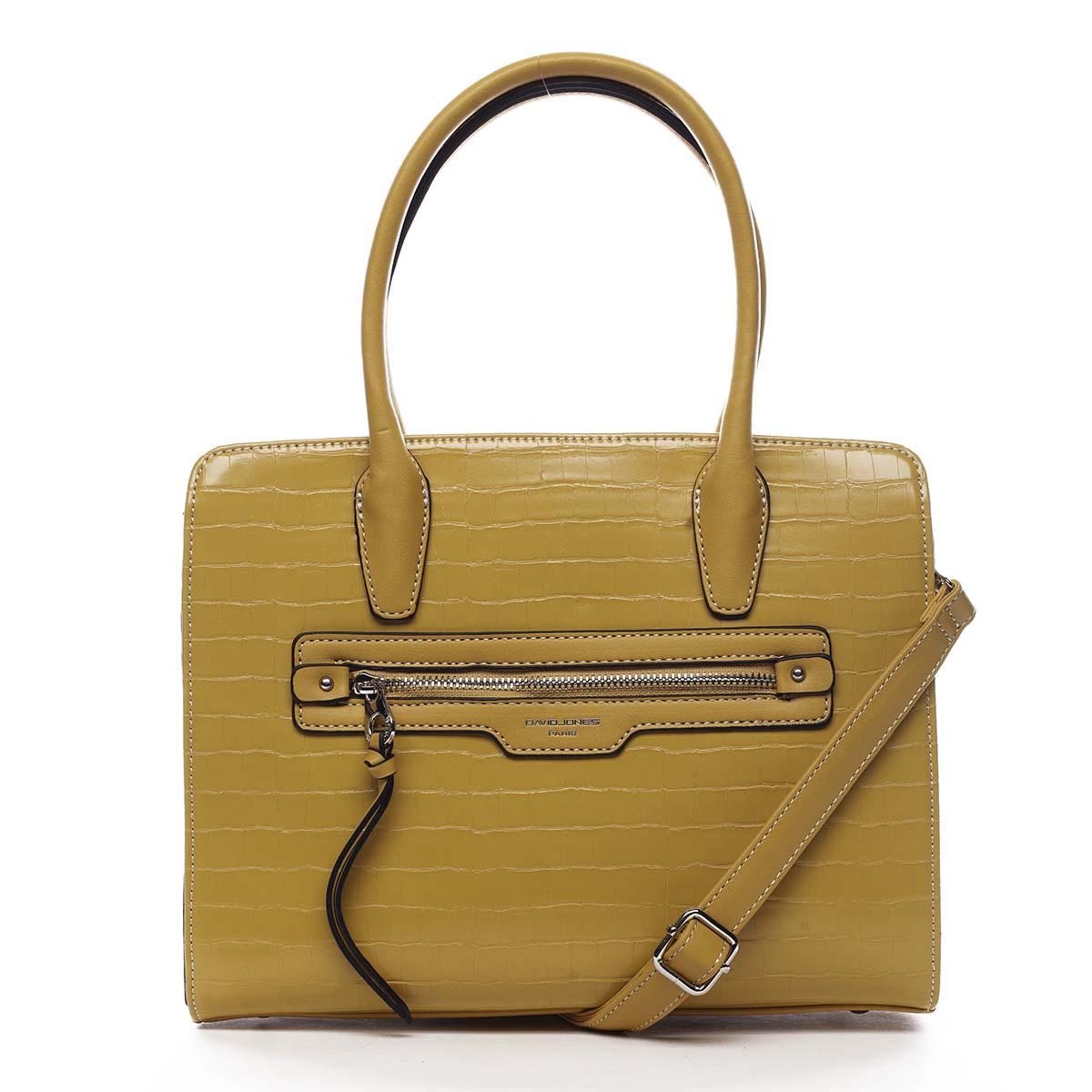 Dámská kabelka žlutá - David Jones Camille žlutá