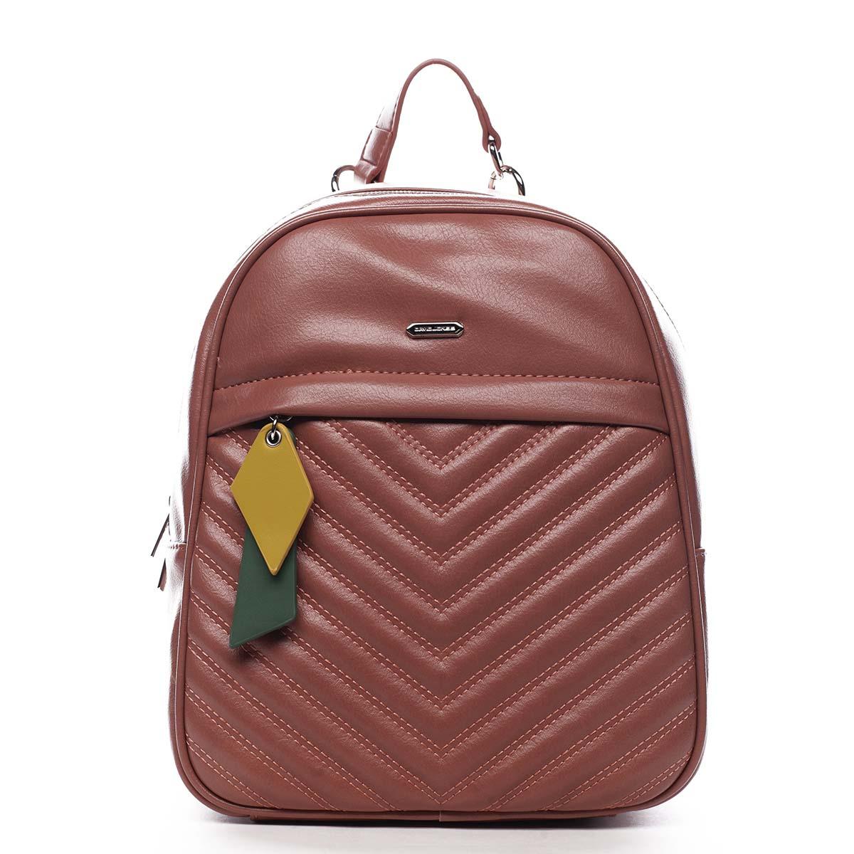 Dámský batoh růžový - David Jones Ullyus růžová