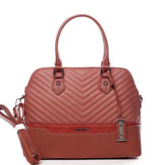 Dámská kabelka do ruky růžová - David Jones Roshel růžová
