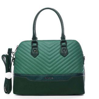 Dámská kabelka do ruky zelená - David Jones Roshel zelená
