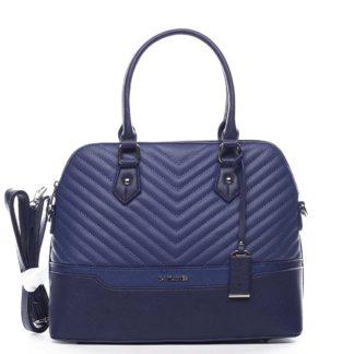 Dámská kabelka do ruky tmavě modrá - David Jones Roshel modrá