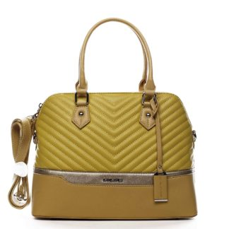 Dámská kabelka do ruky žlutá - David Jones Roshel žlutá