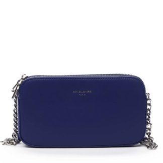 Malá dámská crossbody kabelka modrá - David Jones Lily modrá
