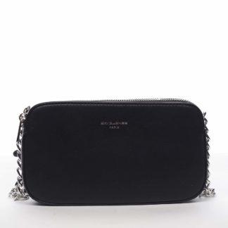 Malá dámská crossbody kabelka černá - David Jones Lily černá