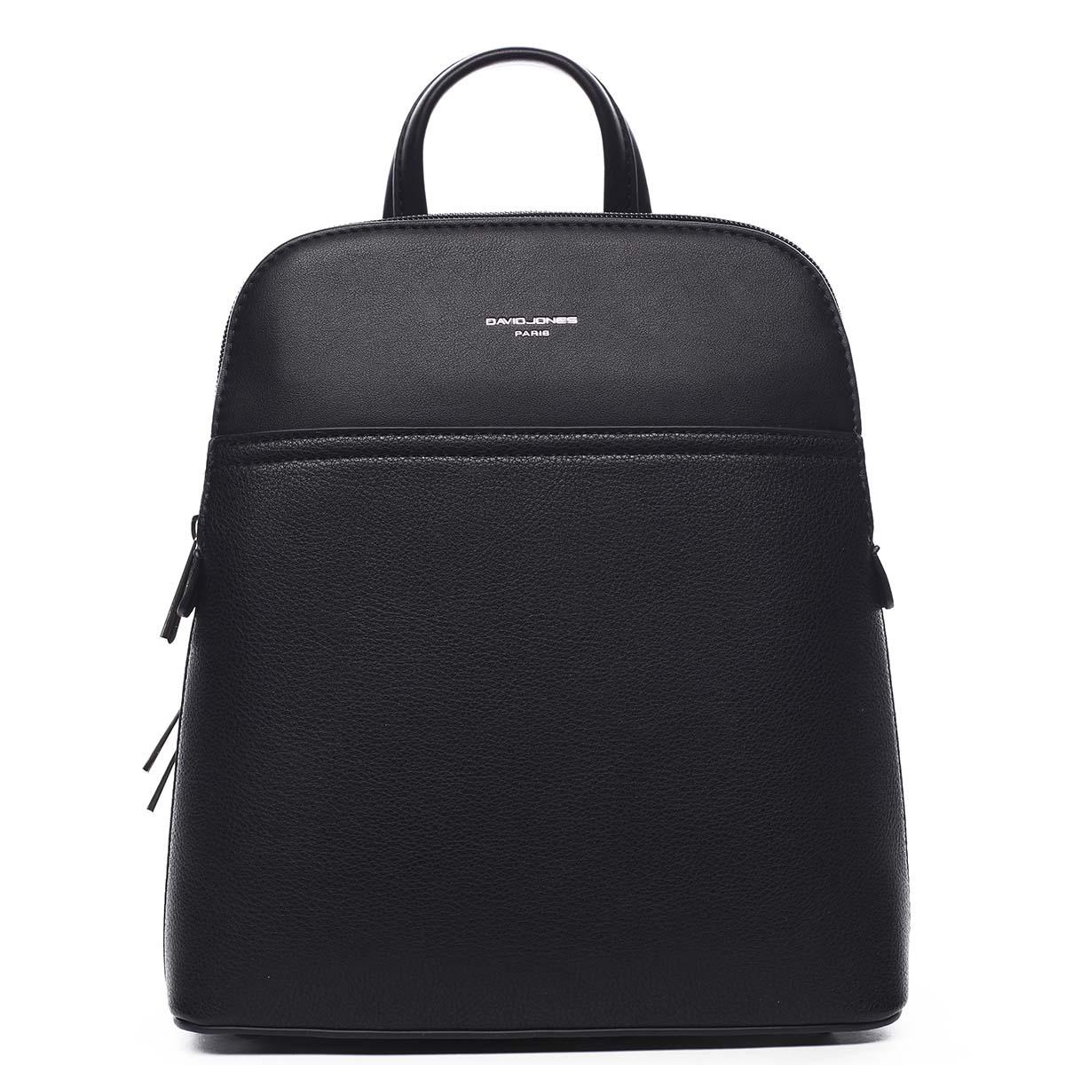 Dámský městský batoh černý - David Jones Aboy černá