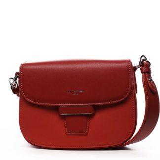 Dámská kabelka červená - David Jones Nancy červená